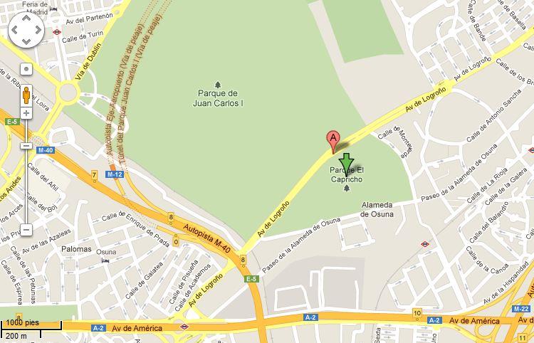 Parque Del Capricho Mapa.El Capricho El Refugio Del Panda